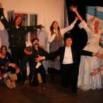 Ensemblen under slutnumret i Jubileumsspexet 2013. Foto: Nationsfotografen