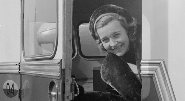 Alice Babs var hedersledamot på Kalmar nation sedan 1963. Foto: Noske, J.D. / Anefo (CC-BY)