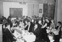 Luciagasque på Kalmar nation, 12 december 1958. Känner du igen dig själv eller någon annan? Foto: L Sandbäck