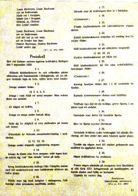 Protokoll fört vid Kalmar nations lagtima kräftskiva, hösten 1929.