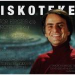 Carl Sagan kommer. Kommer du?